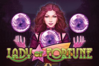 Lady of Fortune Slot Logo