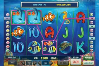 Pearl Lagoon Slot Free Spins Multiplier