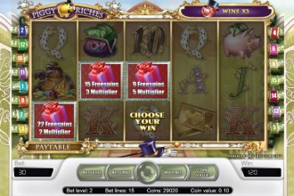 Piggy Riches Slot Free Spins & Multipliers