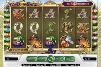 Piggy Riches Slot Reels