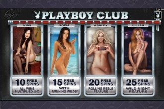 Playboy Club Free Spins Bonus