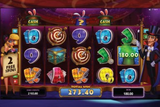 Rabbit in the Hat Slot Free Spins