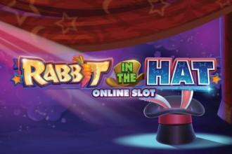 Rabbit in the Hat Slot Logo