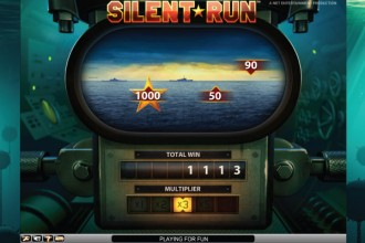 Silent Run Slot Echo Bonus Game Periscope