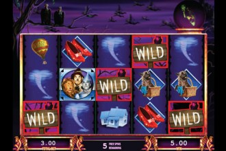 The Wizard of Oz Slot Wilds & Free Spins