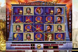 Treasures of Troy Slot Free Spins