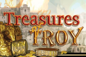 Treasures of Troy Slot Logo