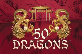 50 Dragons Slot Logo