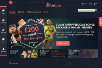 Betspin Casino Online