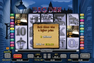 Big Ben Slot Bonus
