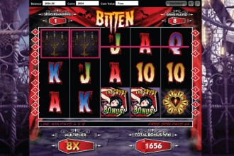 Bitten Slot Free Spins With Mutlipliers