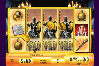 Black Knight Slot Free Spins Wilds