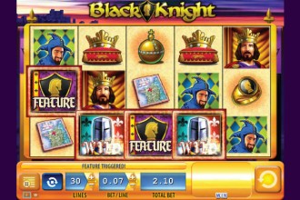 Black Knight Slot Features & Wilds