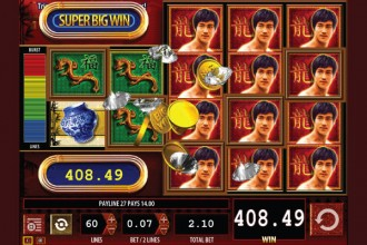 Bruce Lee Online Slot Big Win