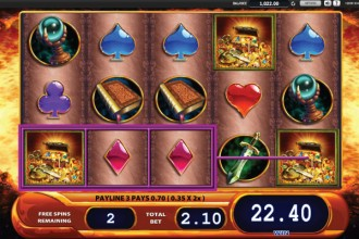 Dragons Inferno Slot Free Spins