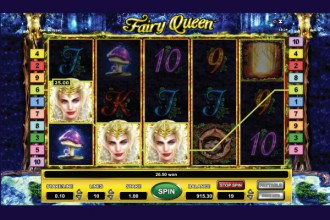 Fairy Queen Online Slot Wilds Win