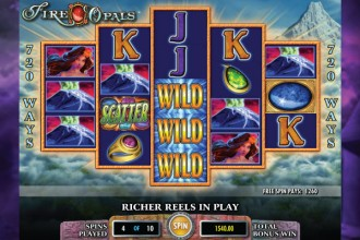 Fire Opals Slot Free Spins