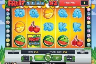 Fruit Shop Online Slot Free Spins