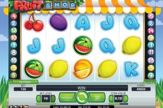 Fruit Shop Online Slot Reels