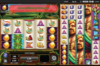 Giants Gold Free Spins Feature