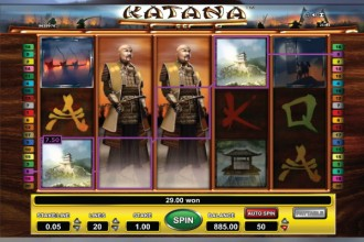 Katana Slot Free Spin Wilds