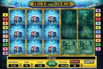Lord of the Ocean Slot Free Spins Bonus