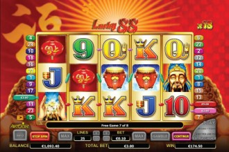 Lucky88 Online Slot Free Spins Win