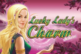 Lucky Lady's Charm Deluxe Slot Logo