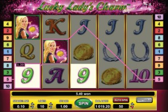 Lucky Lady's Charm Deluxe Slot Reels