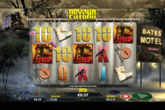 Psycho Online Slot Free Spins