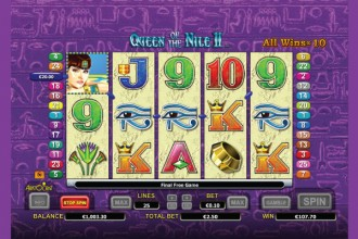Queen of The Nile 2 Slot Free Spins