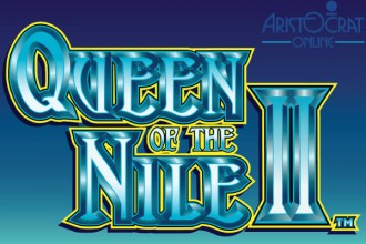 Queen of The Nile 2 Slot Logo