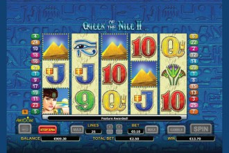 Queen of The Nile 2 Slot Scatters