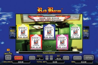 Red Baron Slot Online Free Spins Missions
