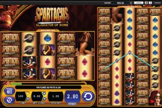 Spartacus Slot Wilds