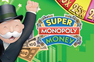 Super Monopoly Money Slot Logo