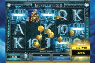 Thunderstruck 2 Slot Big Win
