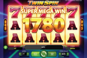 Twin Spin Slot Super Mega Win