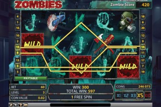 Zombies Slot Free Spins