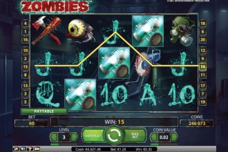 Zombies Slot Scatters