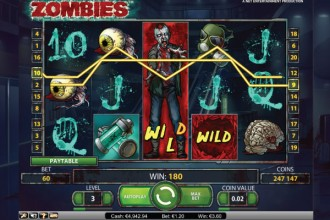 Zombies Slot Stacked Wilds