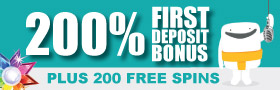 Claim My 200% First Deposit Bonus + 200 Free Spins