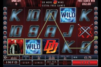 Daredevil Slot Free Spins