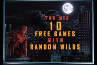 Daredevil Slot 10 Free Spins with Random Wilds