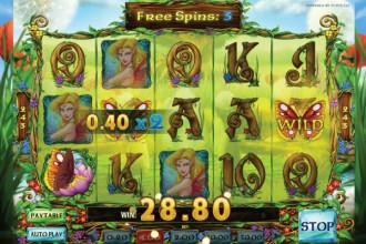 Enchanted Crystals Online Slot Free Spins