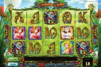 Enchanted Crystals Slot Reels