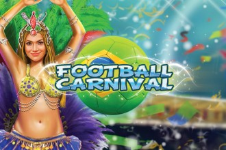 Football Carnival Slot Logo