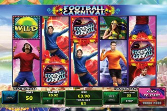 Football Carnival Slot Scatters