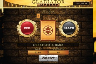 Gladiator Jackpot Slot Gamble Feature