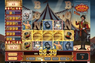 Golden Ticket Slot Online Big Win